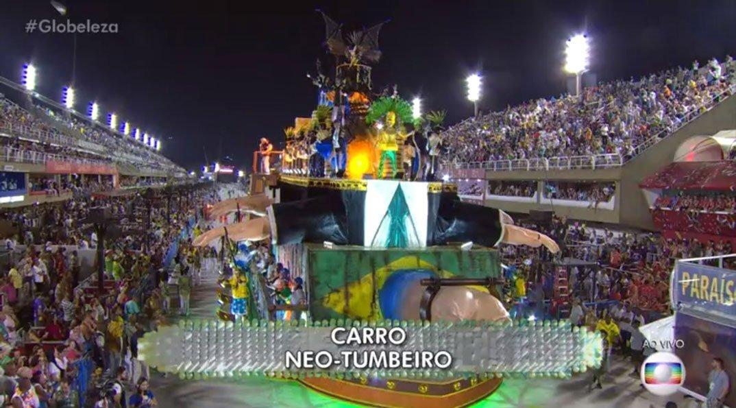 Desfile da Paraíso do Tuiuti, samba-enredo Meu deus, meu deus, está extinta a escravidão? (2018)