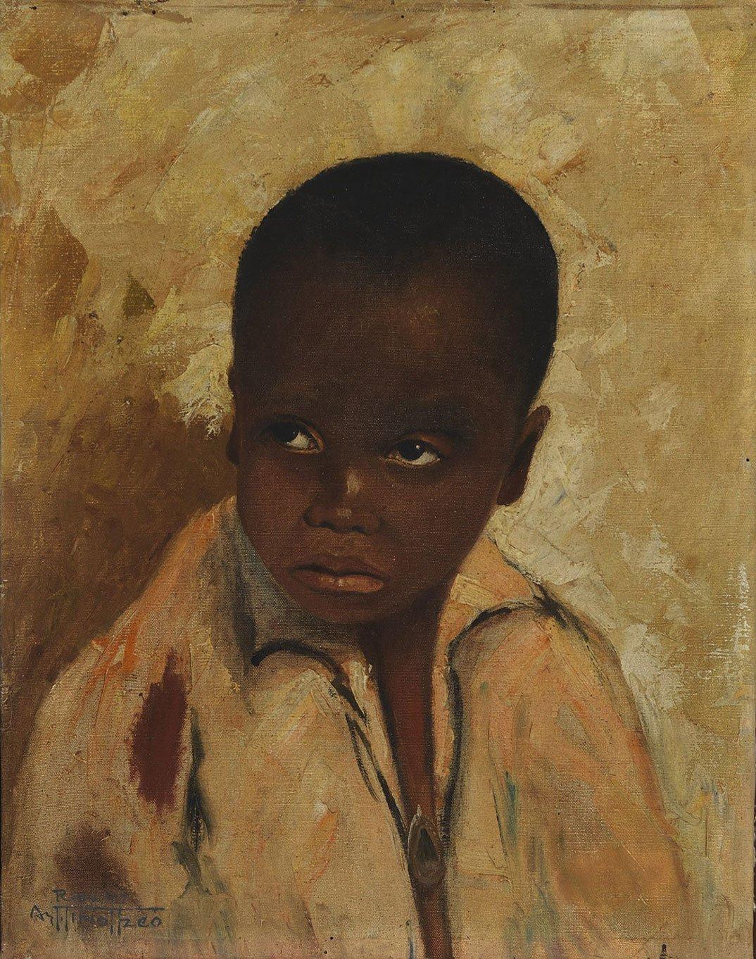 O menino (1917), Arthur Timótheo da Costa.